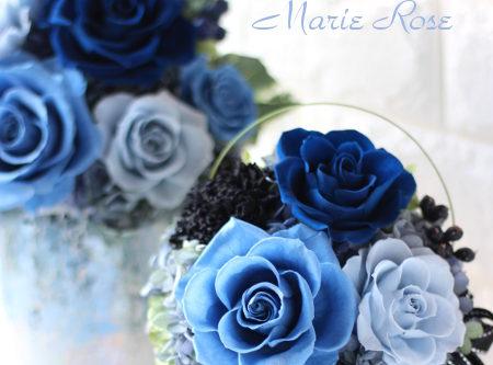 ブルーローズ 青いバラのアレンジメント